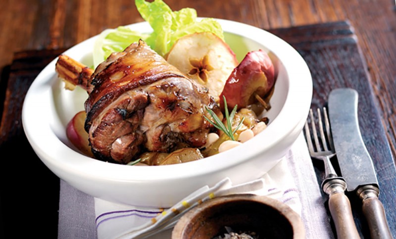 lamb shanks with cider